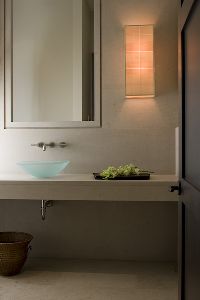 San Juan Islands, interior photographer, architectural photographer, bath, spa, powder room,