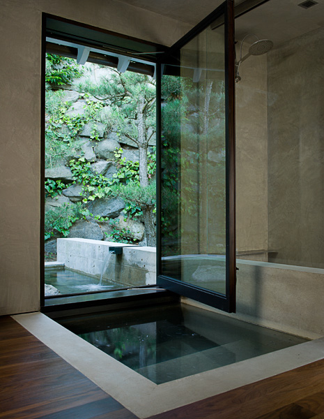 soaking tub, indoor, outdoor, Interior Design, interior photographer,