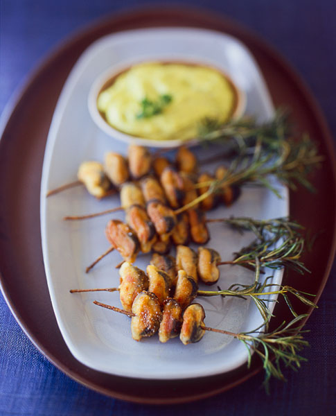 Appetizer, rosemary sprigs