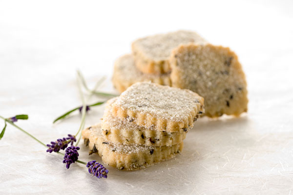 Dessert, short bread, cookie, biscuit, lavendar