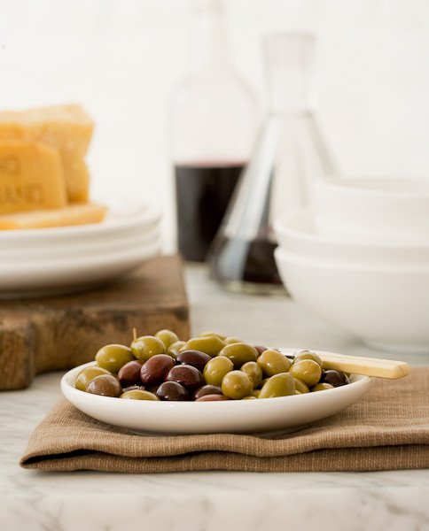 Olives, Cheese, Wine, Snacks, Appetizer, Food