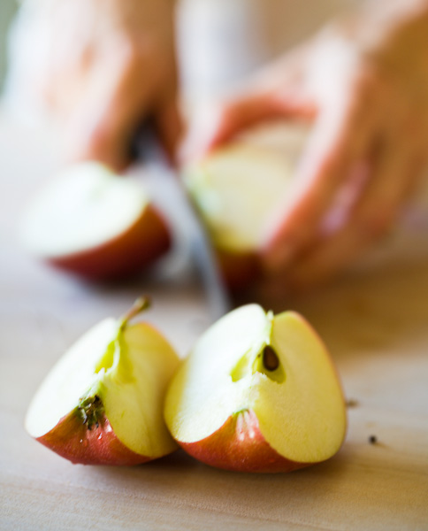 apples, hands, food, slice, rosanna bowles